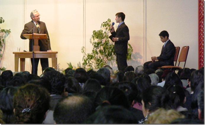 Entrevista a jóvenes