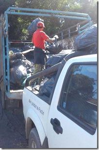 FOTO cuarto operativo escombros y ramas