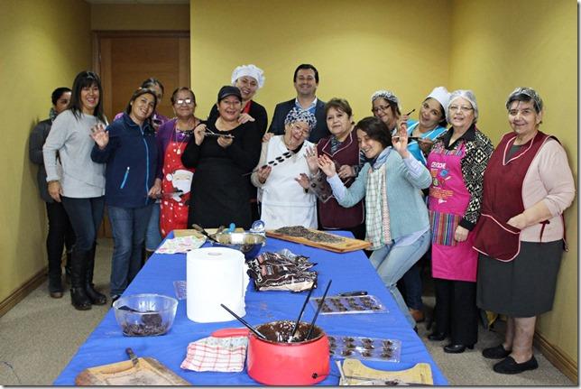 FOTO taller de chocolatería 1