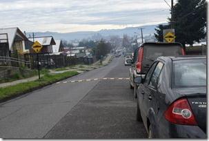 Instalan nuevos reductores de velocidad en Villarrica (2)