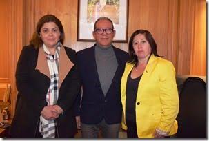 Alcalde analiza cartera de proyectos con autoridades de la Subdere