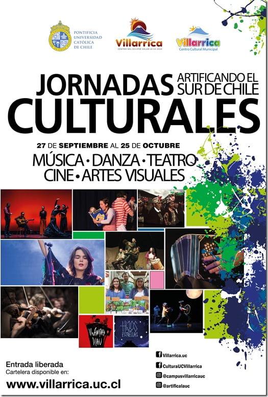 Comienzan las Jornadas Culturales en Villarrica