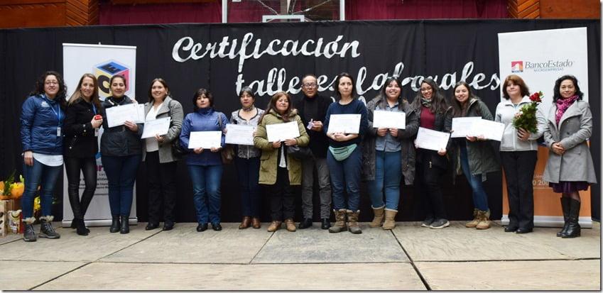 Exitoso cierre de Talleres Laborales en Villarrica (5)