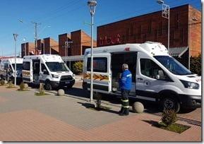 Municipalidad de Villarrica recibe cuatro nuevas ambulancias (2)