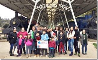Vecinos de Villarrica viajaron a Puerto Saavedra