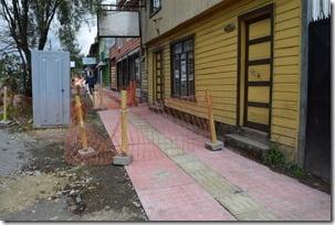 Avanzan obras de mejoramiento de veredas en la comuna (1)