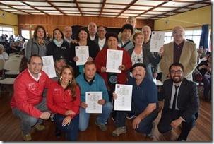 Cerca de 200 vecinos de Villarrica recibieron subsidio para la vivienda (1)