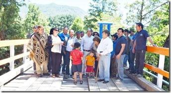 Puentes San Ignacio y Nahuelpan fueron entregados a la comunidad