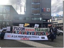 registro de vecinos reclamando en Temuco