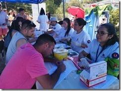 CESFAM de Licán Ray realiza exitosa Feria Saludable de verano (2)