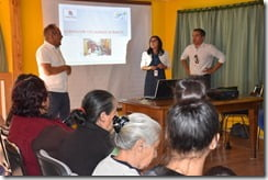 Vecinos de Los Laureles de Ñancul avanzan hacia la construcción de sus nuevas viviendas (2)