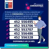 call center ssas coronavirus