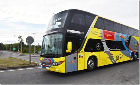 Equipos de salud continúan con férreo control sanitario a pasajeros que viajan en buses interprovinciales