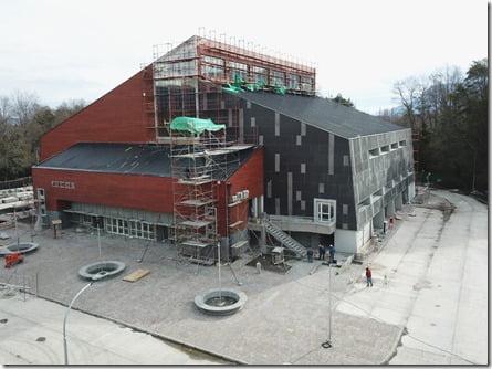 Obras de nuevo Gimnasio en Pucón (1)