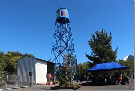Torre agua foto archivo