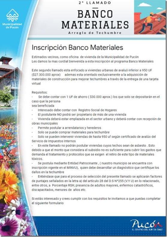 Banco de Materiales