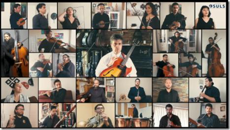 Orquesta Sinfónica Universidad de La Serena y Ángel Parra