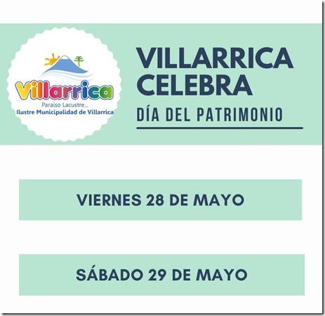 Villarrica celebra Día del Patrimonio Cultural