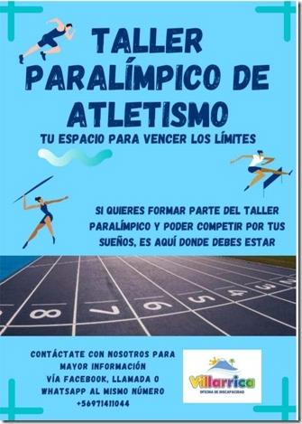 Invitan a jóvenes estudiantes a participar de Taller Paralímpico