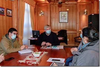 Municipalidad compromete apoyo a familias para compra de terreno Comité de Vivienda Nevados del Volcán