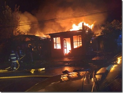 Viviendas de emergencias de Onemi llegarán a Villarrica en ayuda a familias damnificadas en incendio de Antifil