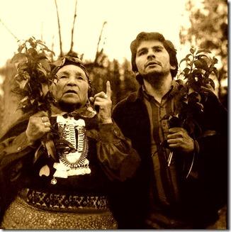 Ziley Con machi Fca. Colipe en Quepe, 1986