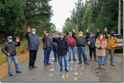 Iniciarán obras de pavimentación del camino Putúe - Rinconada